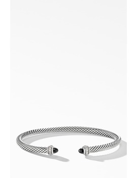 4mm Cable Classic Bracelet With Semiprecious Stones & Diamonds by David Yurman