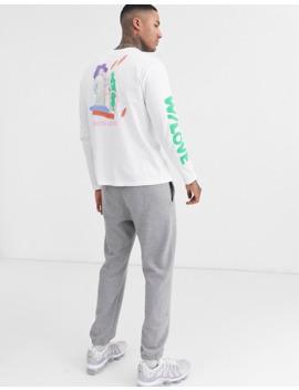 Asos Design – Weites, Langärmliges Shirt Mit Malerischen Prints by Asos