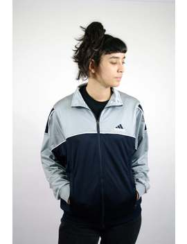 Vintage 90s 00s Adidas Shell Jacket Jacket Sport Survêtement Sweat Suit Old School Tracksuit Jacket Trainer Zip Men Mens Women S Xs by Etsy