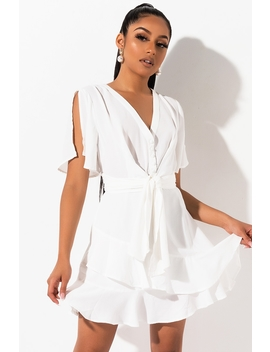 Wish Wish Wrap Front Romper by Akira