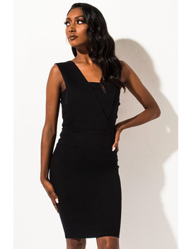 Adore One Shoulder Mini Dress by Akira