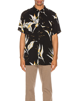 Bon Surfers Paradise Shirt In Midnight Paradies by Rolla's
