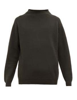 High Neck Wool Sweater by Margaret Howell
