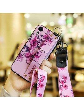 "Njjex For 5.5"" 2017 Samsung Galaxy J7 / J7 V / J7 Sky Pro / J7 Perx / Halo / J7 Prime Cases, Flower Back Glitter Bling Diamond Rhinestone Silicone Bumper Protective Case Kickstand & Wrist Strap by Njjex"