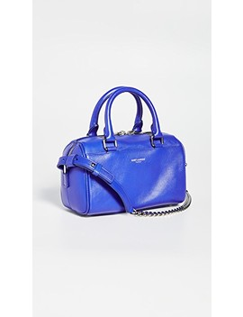 Ysl Blue Toy Duffle Bag by What Goes Around Comes Around