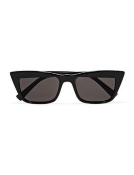 I Feel Love Sonnenbrille Mit D Rahmen Aus Azetat by Le Specs