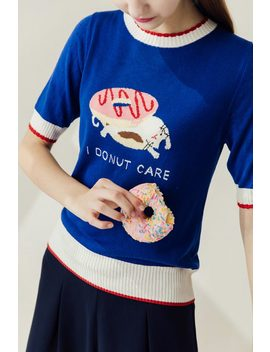 I Donut Care Top by Miss Patina