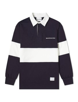 Mki Multi Stripe Rugby Shirt by Mki