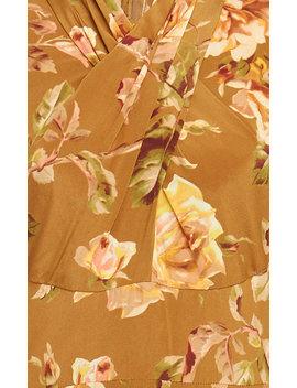 Resistance Floral Print Silk Dress by Zimmermann