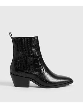 Miriam Crocodile Boot by Allsaints