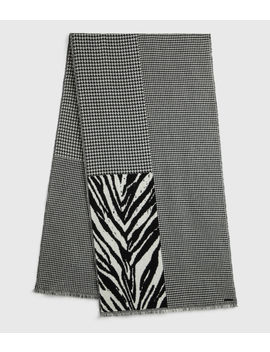 Patchwork Oblong Scarf by Allsaints