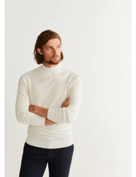 100% Merino Wool Sweater by Mango