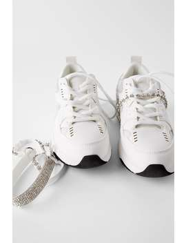 DiamantÉ Sneakers by Zara