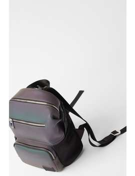 Reflective Backpack by Zara