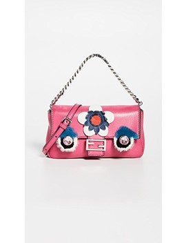 Fendi Pink Monster Micro Baguette by What Goes Around Comes Around