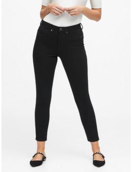Curvy Mid Rise Skinny Fade Resistant Jean by Banana Repbulic