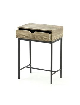 Means Console Table With Drawer by Borough Wharf