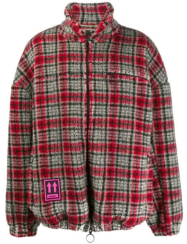 Checked Fleece Jacket by Off White
