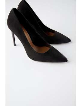 Chaussures À Talons En Écaille by Zara