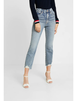 Fray Hem   Jeans Straight Leg by Good American