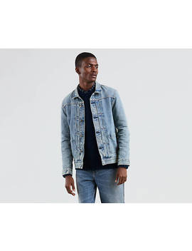 Levi's® Made & Crafted® Worn Trucker Jacket by Levi's