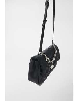 Quilted Crossbody Bag With Charms by Zara