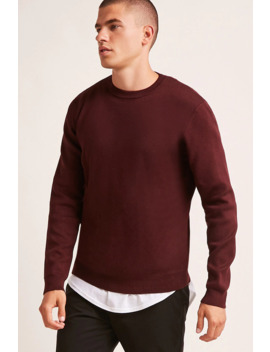 Crew Neck Jumper by Forever 21