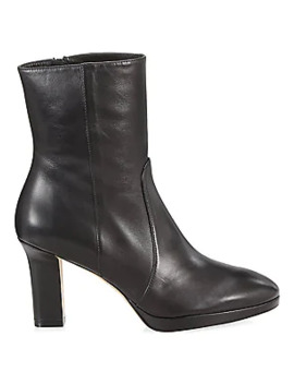 Rosalind Leather Booties by Stuart Weitzman