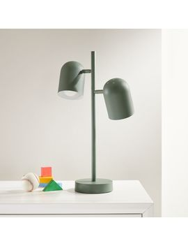 Green Touch Table Lamp by Crate&Barrel