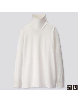 T Shirt Uniqlo U Collo Alto Maniche Lunghe Uomo by Uniqlo
