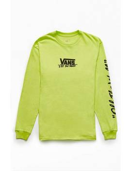 Vans Neon Bmx Off The Wall Long Sleeve T Shirt by Pacsun