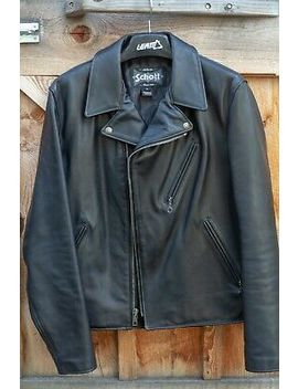 Schott Nyc Perfecto Leather Biker Jacket #503 by Ebay Seller