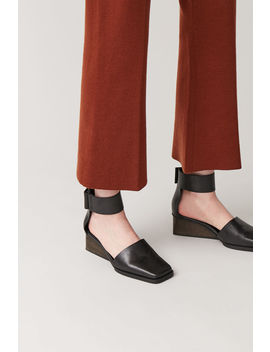 Wide Strap Wedges by Cos