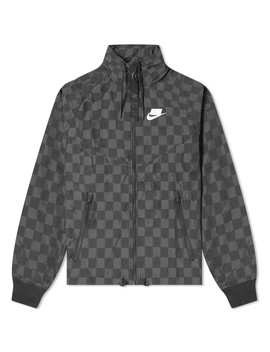 Nike Check Windrunner Jacket by Nike