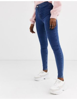 Topshop Joni Skinny Jeans In Mid Wash by Topshop