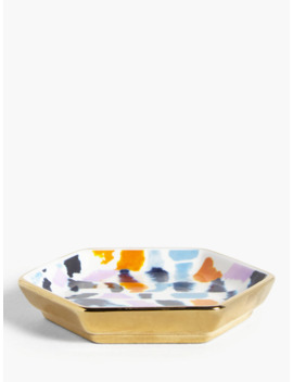 John Lewis & Partners Tarana Geometric Trinket Dish by John Lewis & Partners