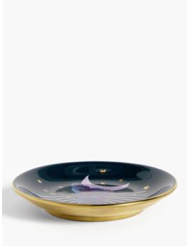 John Lewis & Partners Round Moon Trinket Dish by John Lewis & Partners