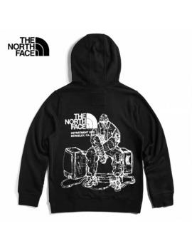 Urban Exploration Black Series Kazuki Prints Hoodie Black by The North Face  ×  Kazuki Kuraishi  ×