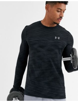Under Armour Vanish Seamless Long Sleeve T Shirt In Grey by Under Armour