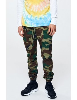 Pac Sun Camo Skinny Jogger Pants by Pacsun