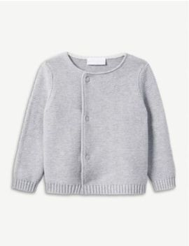 Knitted Cotton Cardigan 0 24 Months by The Little White Company
