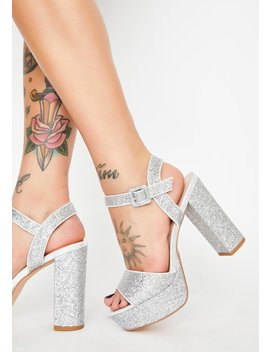 Celestial Empire Platform Heels by Pleaser