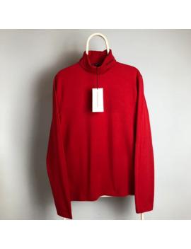 Raf Simons X Calvin Klein Red Turtleneck New by Raf Simons  ×  Calvin Klein 205 W39 Nyc  ×