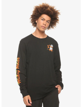 Disney Mickey Mouse Japanese Long Sleeve T Shirt by Hot Topic