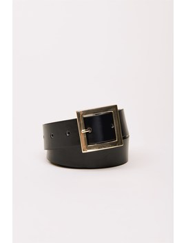 Square Buckle Belt by Dynamite