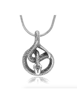 Coiled Snake Necklace by Silver  ×  Sterling Silver  ×  Jewelry  ×
