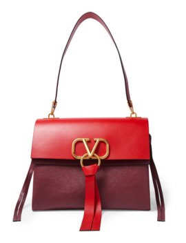 Valentino Garavani Vring Medium Color Block Shoulder Bag by Valentino