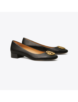 Chelsea Heeled Ballet Flat by Tory Burch