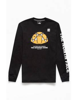 The North Face Black From The Beginning Long Sleeve T Shirt by Pacsun