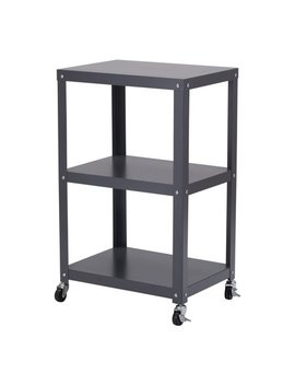 Mainstays 3 Shelf Metal Cart, Multiple Colors by Mainstays